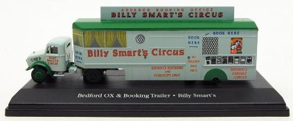 + VAT Brand New Collectors Edition Die-Cast Billy Smart's Bedford Ox Truck And Booking Trailer -