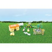+ VAT Brand New Barn Farm Set (26pc) To Include Animals - Vehicles - Buildings And Mini Figures