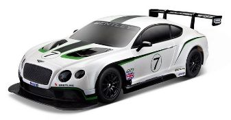 + VAT Brand New R/C 1:14 Scale Bentley Continental GT3 - Amazon price £36.99 - Colours May Vary