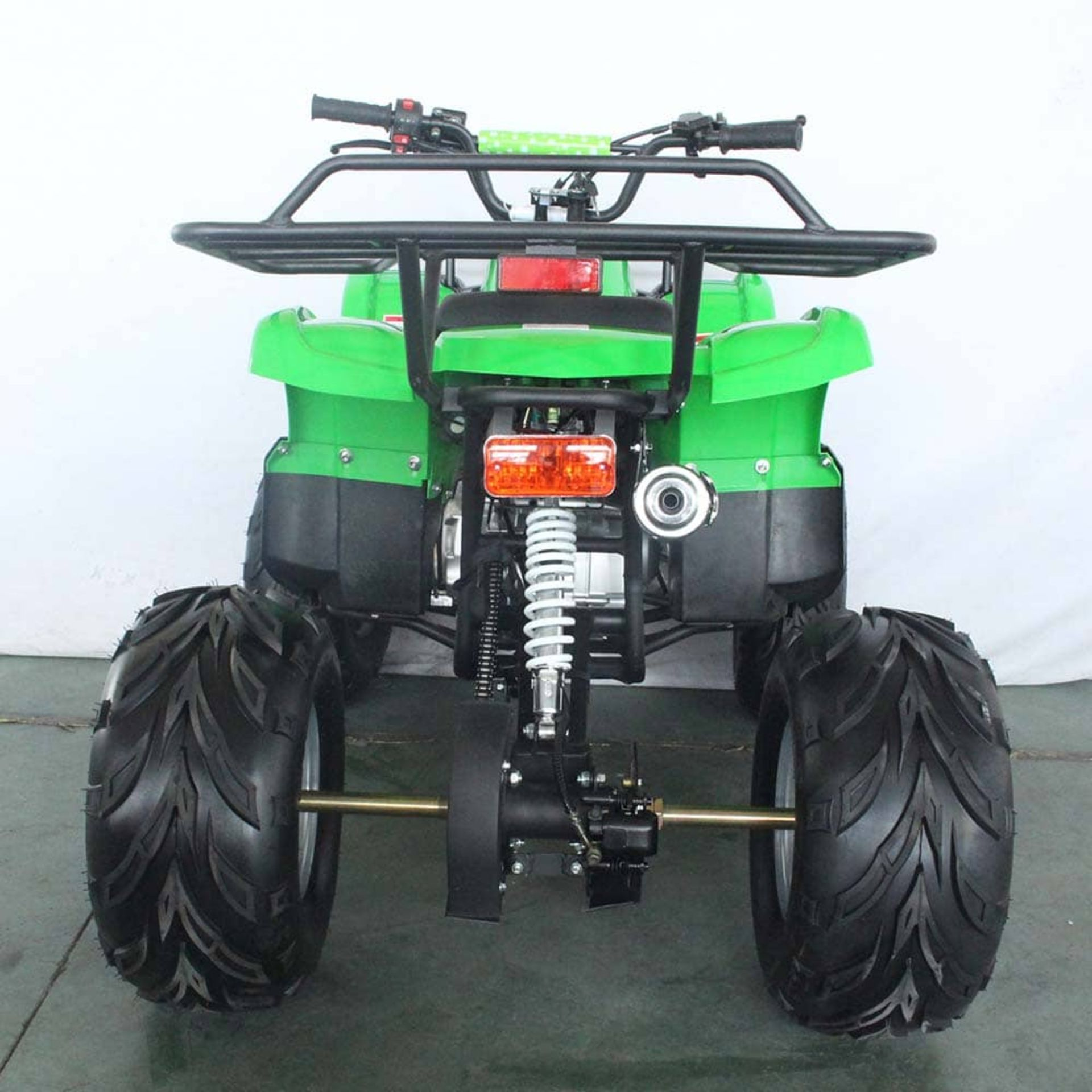 + VAT Brand New 125cc Condor Quad Bike - Four Stroke - Single Cylinder - Front Drum Brakes & Rear - Image 4 of 9