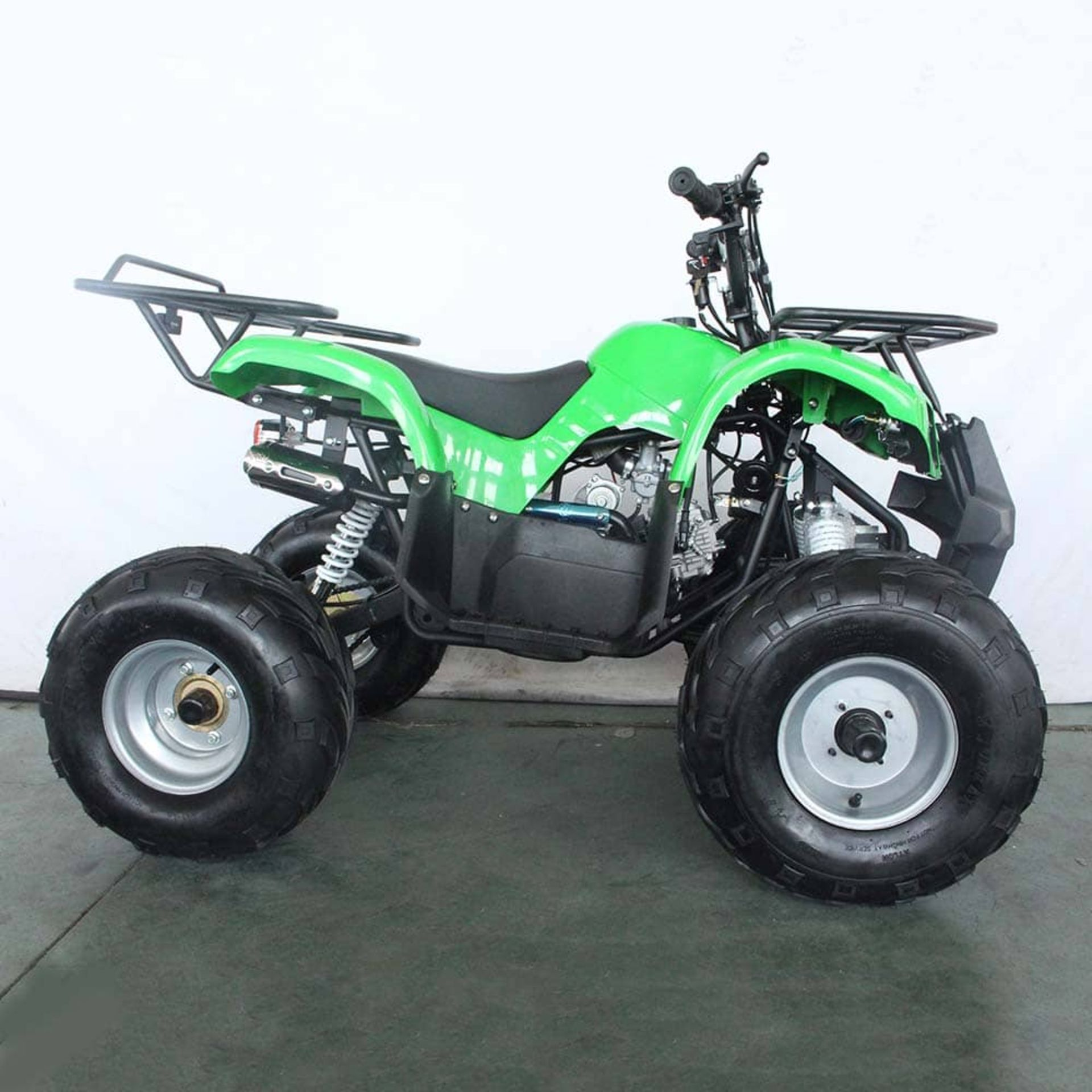 + VAT Brand New 125cc Condor Quad Bike - Four Stroke - Single Cylinder - Front Drum Brakes & Rear - Image 6 of 9