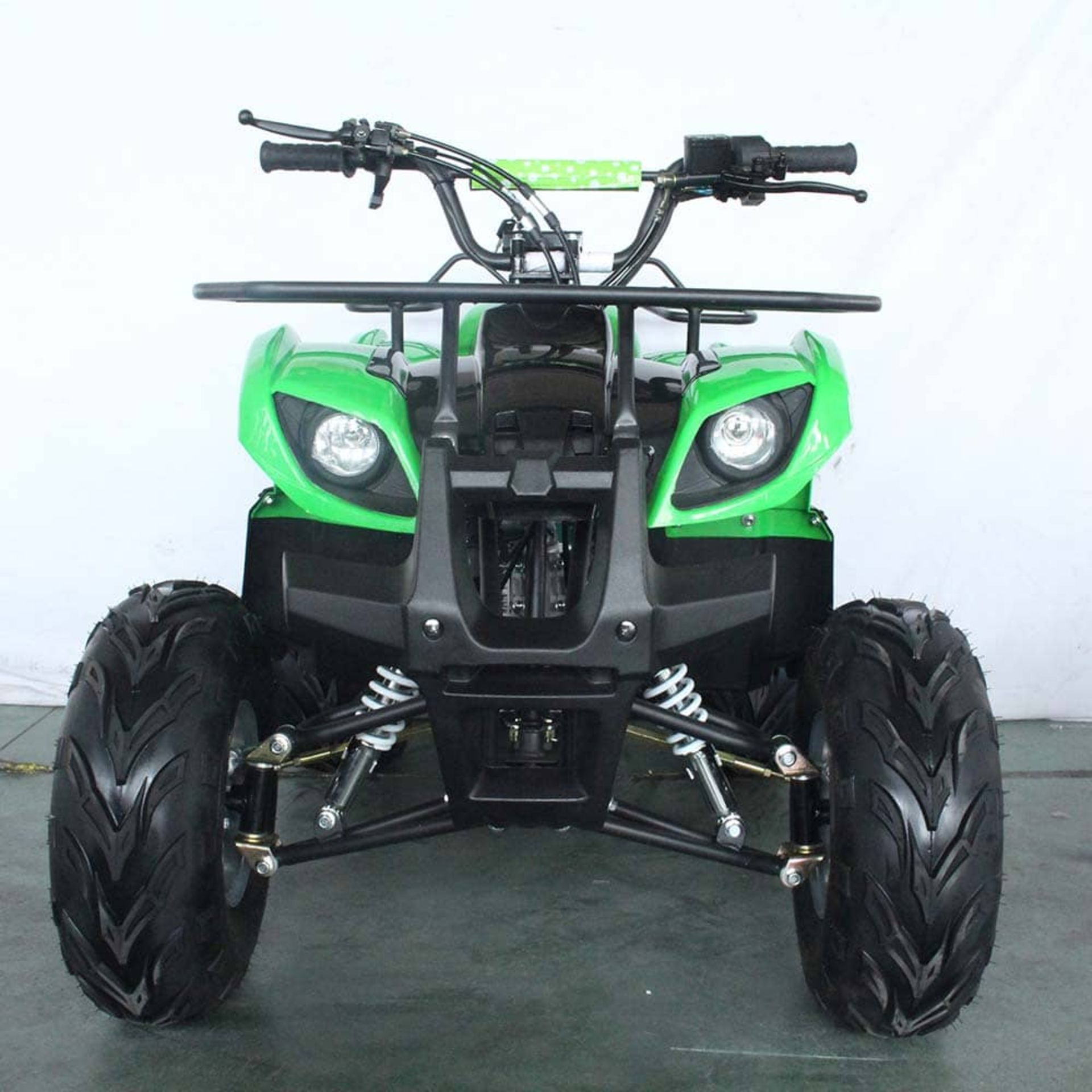 + VAT Brand New 125cc Condor Quad Bike - Four Stroke - Single Cylinder - Front Drum Brakes & Rear - Image 8 of 9