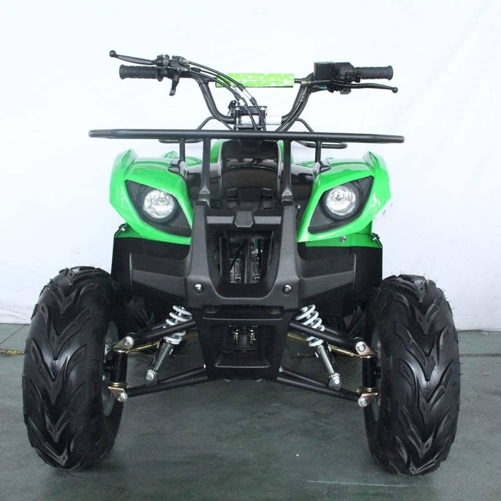 + VAT Brand New 125cc Condor Quad Bike - Four Stroke - Single Cylinder - Front Drum Brakes & Rear - Image 8 of 9