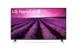+ VAT Grade A LG 55 Inch ACTIVE HDR 4K SUPER ULTRA HD NANO LED SMART TV WITH FREEVIEW HD & WEBOS &