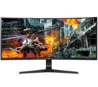 + VAT Grade A LG 34 Inch CURVED ULTRAWIDE HDR10 WFHD 2560 x 1080p GAMING MONITOR WITH G-SYNC