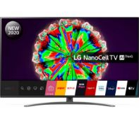 + VAT Grade A LG 55 Inch HDR 10 4K ULTRA HD NANO LED SMART TV WITH FREEVIEW HD & WEBOS & WIFI - AI