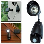 + VAT Brand New Kingfisher Security Light - Motion Sensor - Weatherproof - 9 Bright LED Bulbs