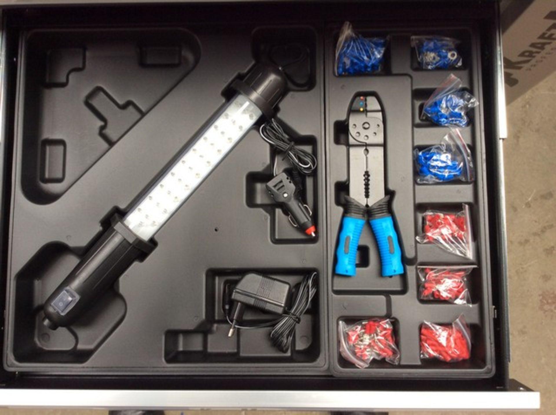 + VAT Brand New Seven Drawer Locking Garage Tool Cabinet With Lockable Castors-Seven EVA Drawers Of - Image 8 of 8