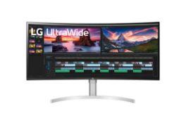 + VAT Grade A LG 38 Inch CURVED ULTRAGEAR ULTRAWIDE QHD+ (3840 x 1600) 144Hz HDR 600 NANO IPS LED