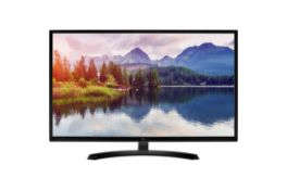 + VAT Grade A LG 32 Inch FULL HD IPS LED MONITOR - HDMI, D-SUB 32MP58HQ-P