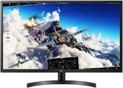 + VAT Grade A LG 32 Inch FULL HD IPS LED MONITOR - HDMI x 2, D-SUB 32ML600M-B