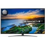+ VAT Grade A LG 49 Inch 4K ULTRA HD NANO LED CINEMA HDR TRUMOTION 200 SMART TV WITH FREEVIEW HD &