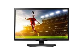 + VAT Grade A LG 24 Inch HD READY LED MONITOR WITH SPEAKERS - HDMI 24MN49HM-PZ