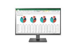 + VAT Grade A LG 27 Inch 4K UHD IPS LED MONITOR - HDMI X , DISPLAY PORT X 1, USB TYPE C 27UK670-W