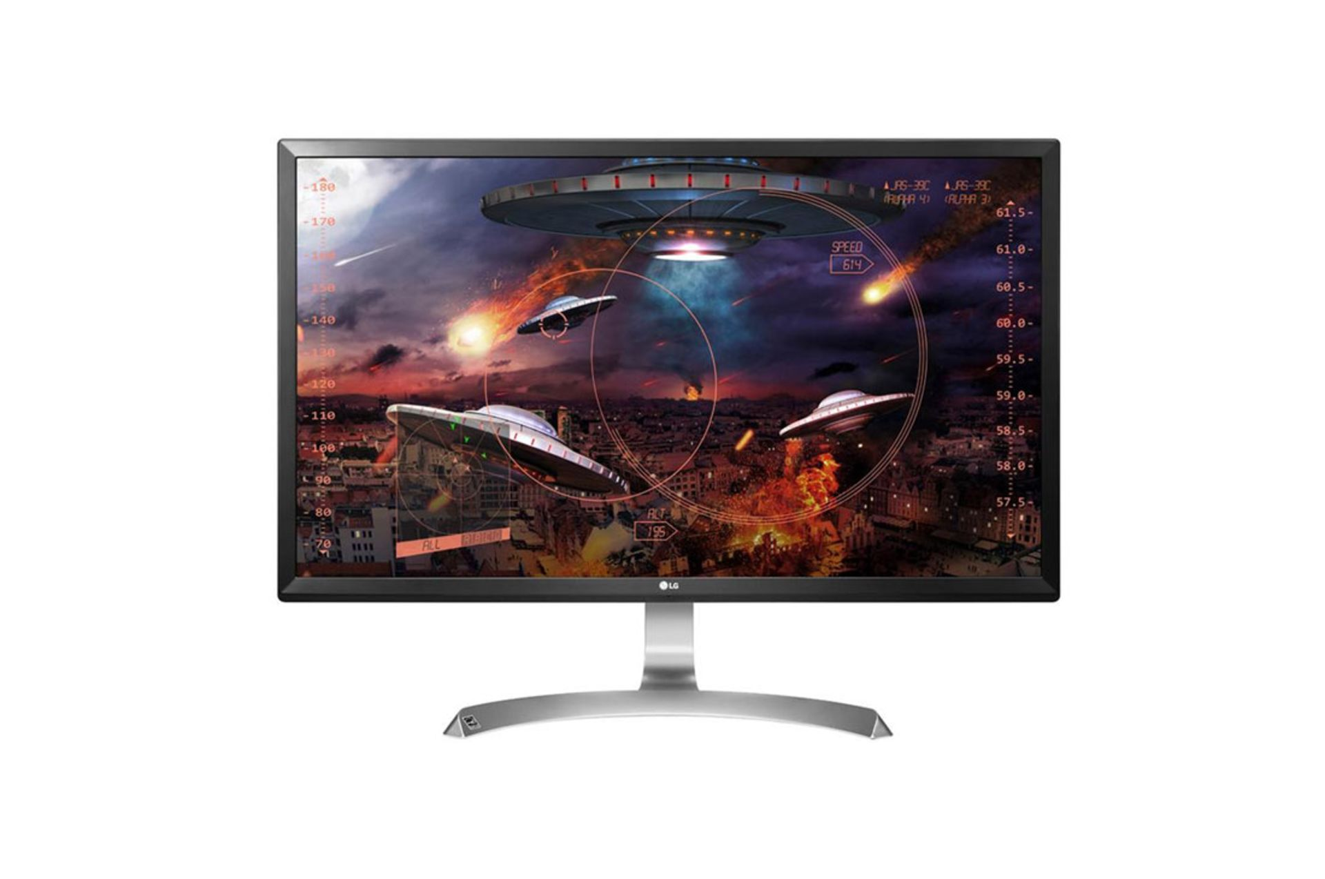 + VAT Grade A LG 27 Inch 4K ULTRA HD IPS LED MONITOR - 3840 X 2160P - HDMI X 2, DISPLAY PORT