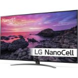 + VAT Grade A LG 55 Inch 4K ULTRA HD NANO LED CINEMA HDR TRUMOTION 200 SMART TV WITH FREEVIEW HD &