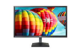 + VAT Grade A LG 22 Inch FULL HD LED MONITOR - HDMI, D-SUB 22MK400H-B - 1 x WHITE PIXEL