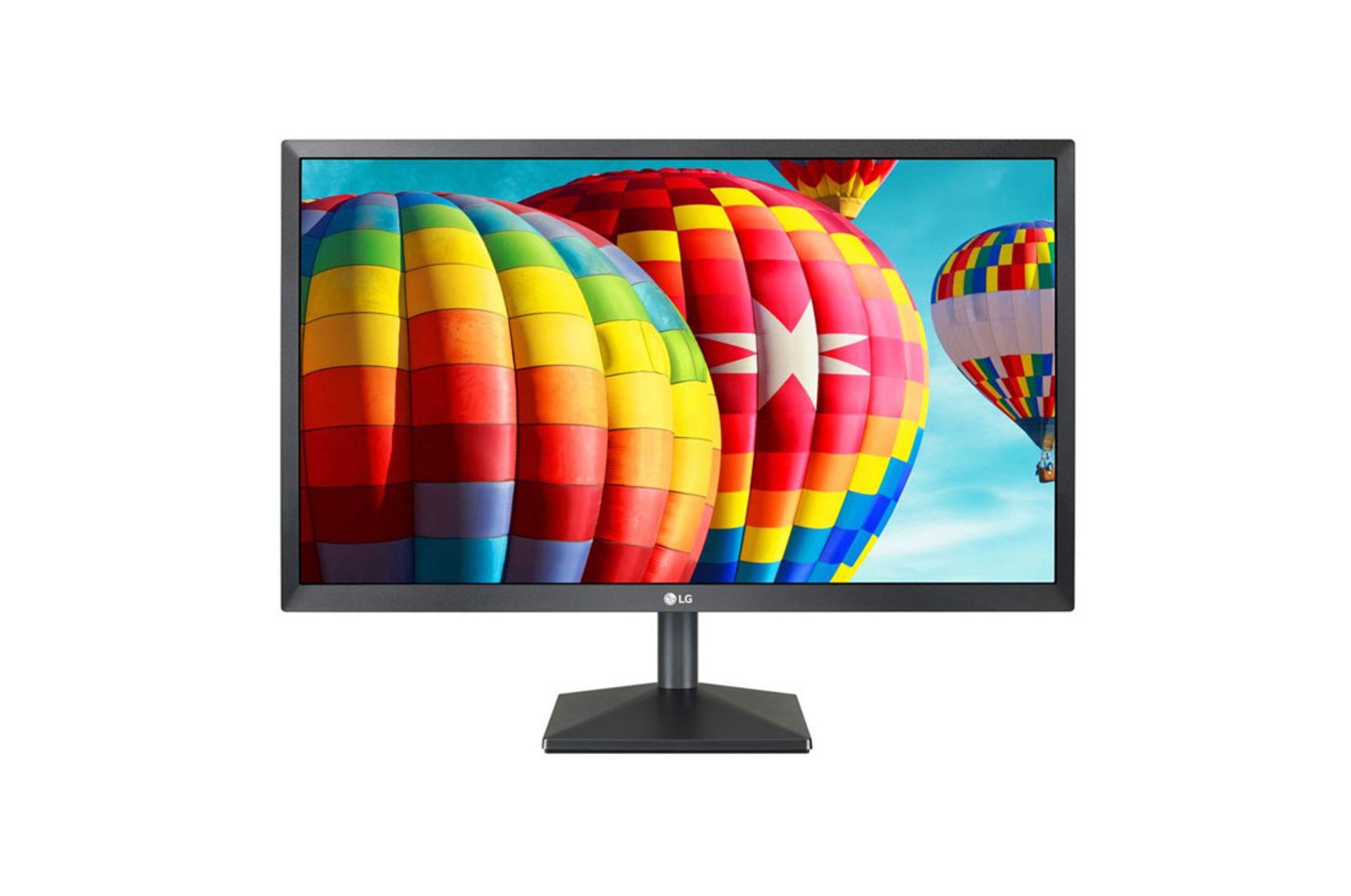 + VAT Grade A LG 22 Inch FULL HD IPS LED MONITOR - HDMI, D-SUB 22MK430H-B