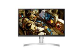 + VAT Grade A LG 27 Inch 4K ULTRA HD IPS LED MONITOR HDR 10 - 3840 X 2160P - HDMI X 2, DISPLAY PORT