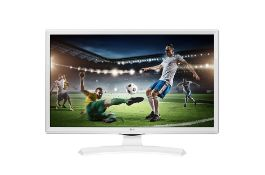 + VAT Grade A LG 24 Inch HD READY LED TV WITH FREEVIEW HD - WHITE 24TK410U-WZ
