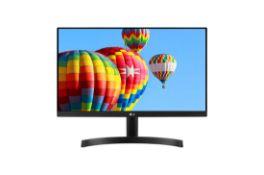 + VAT Grade A LG 27 Inch FULL HD IPS LED FREESYNC MONITOR - D-SUB, HDMI 27MK600M-B