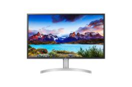 + VAT Grade A LG 32 Inch HDR 600 4K ULTRA HD LED MONITOR - 3840 X 2160P - HDMI X 2, DISPLAY PORT X
