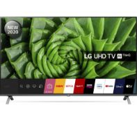 + VAT Grade A LG 55 Inch HDR 4K ULTRA HD LED HDR 10 PRO TRUMOTION 100 SMART TV WITH FREEVIEW HD &