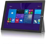 + VAT Grade A Microsoft Surface Pro 3 Tablet Model 1631 - 128GB SSD - 4GB Ram - Generic Box