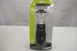 + VAT Grade A 4 Super Bright LED Wind Up Lantern
