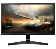 + VAT Grade A LG 27 Inch FULL HD IPS LED GAMING MONITOR - D-SUB, HDMI, DISPLAY PORT 27MP59G-P