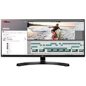 + VAT Grade A LG 34 Inch QHD ULTRA WIDE LED IPS MONITOR - 3440 X 1440P - HDMI, DISPLAY PORT,