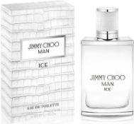 + VAT Brand New Jimmy Choo Man Ice 50ml EDT Spray
