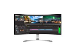+ VAT Grade A LG 34 Inch CURVED ULTRA WIDE WQHD IPS LED MONITOR - 3440 X 1440P - HDMI X 2, DISPLAY