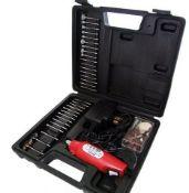 + VAT Brand New Sixty Piece Mini Drill And Grinder Kit