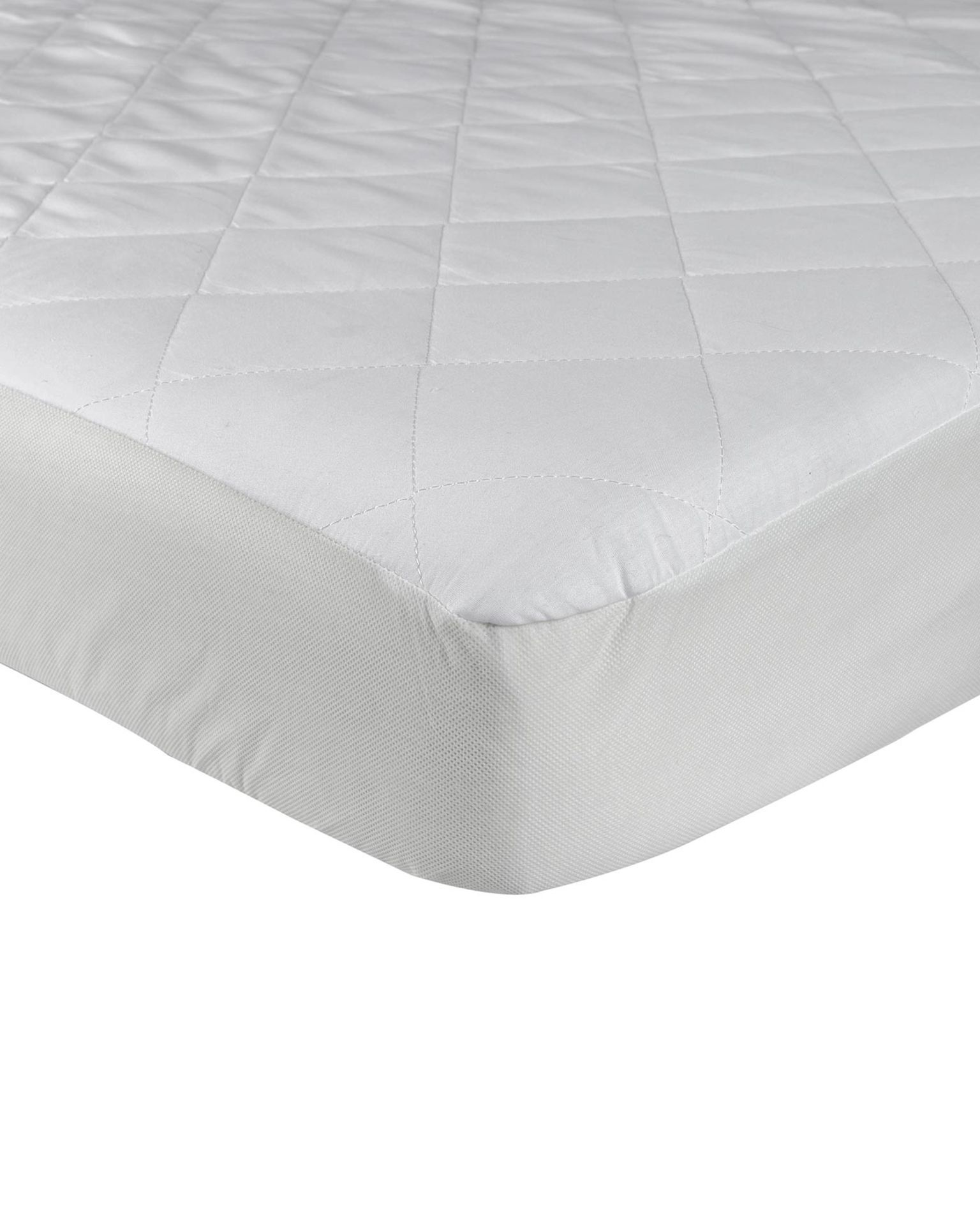 + VAT Brand New Extra Deep Luxury Quilted Fitted Single Bed Mattress Protector 33cm