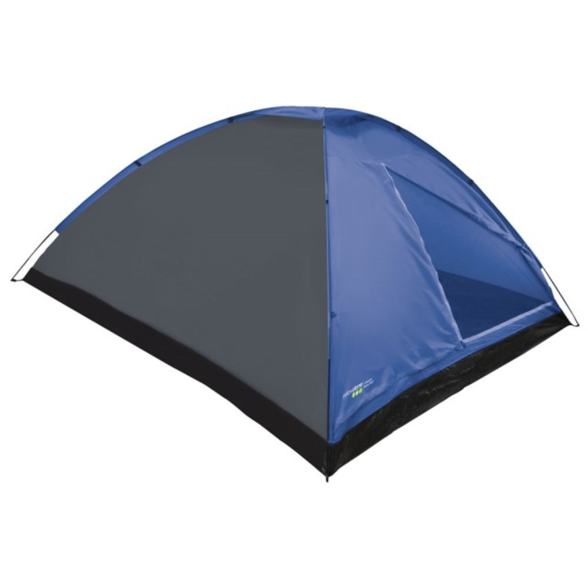 + VAT Brand New 4 Person Dome Tent With Taped seams And Fibreglass Poles RRP25.00