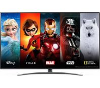 + VAT Grade A LG 65 Inch 4K ULTRA HD NANO LED CINEMA HDR TRUMOTION 100 SMART TV WITH FREEVIEW HD &