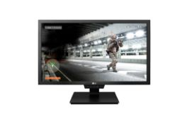 + VAT Grade A LG 24 Inch FULL HD GAMING LED MONITOR - HDMI X 2, DISPLAYPORT, USB 3.0 X 2 24GM79-B
