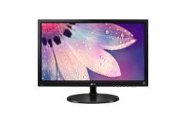 + VAT Grade A LG 24 Inch FULL HD LED MONITOR - D-SUB 24M38H-B