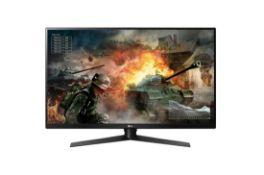 + VAT Grade A LG 32 Inch QHD 2560 x 1440 GAMING MONITOR WITH G-SYNC - HDMI, DISPLAY PORT, USB 3.0 -