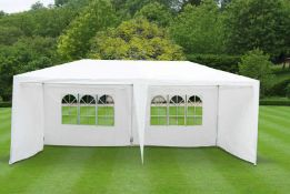 + VAT Brand New DG 6m x 3m Deluxe Gazebo With Side Walls - ISP £129.99 (Amazon) Similar