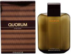 + VAT Brand New Puig Quorum 100ml Aftershave