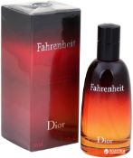 + VAT Brand New Dior Fahrenheit 50ml EDT Spray