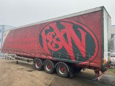 + VAT 2011 SDC Mega Curtainside Trailer With Rear Barn Doors - MOT 31/10/21 So Almost A Full Year