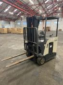 + VAT 2008 Crown Stand In 3 Wheel Forklift - Approx 1570 Hours - 1500Kg Capacity - Will Operate
