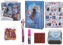 + VAT Brand New Disney Frozen II Decorate Diary Gift Set