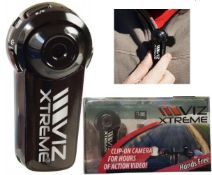 + VAT Brand New Viz Extreme USB Clip On Pro Camera - RRP £59.99 - Ebay Price £57.27 - With Charging