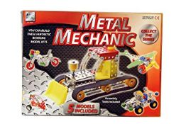 + VAT Brand New Meccano Type Construction Kit (Five Models) - Large Kit