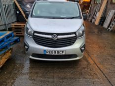 + VAT Grade A Vauxhall Vivaro 2700 Sport CDTI Van - RE69 BCF - Two Previous Owners - Two Keys -