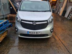 + VAT Grade A Vauxhall Vivaro 2700 Sport CDTI Van - RE69 BCF - Two Previous Owners - Two Keys -